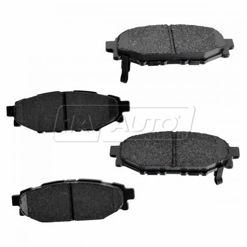 Rear Premium Posi Ceramic Disc Brake Pads (CD1114)