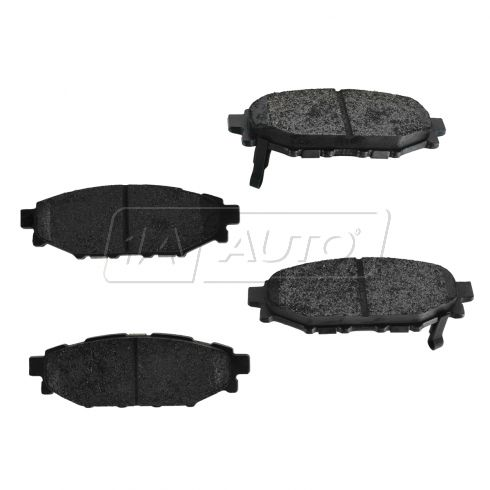 Rear Premium Posi Metallic Disc Brake Pads (MD1114)
