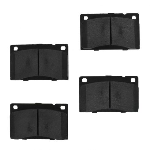 Front Semi-Metallic Disc Brake Pads (MD43A)