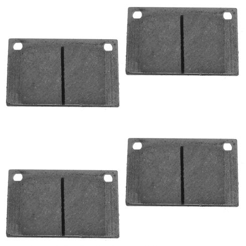 Front Ceramic Disc Brake Pads (CD43A)