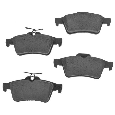 Rear Semi-Metallic Disc Brake Pads (M1095)