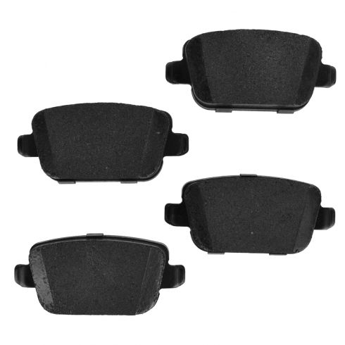 Rear Premium Posi Metallic Disc Brake Pads (MD1314)