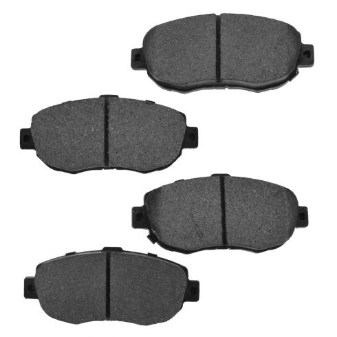 Front Ceramic Disc Brake Pads (CD619)