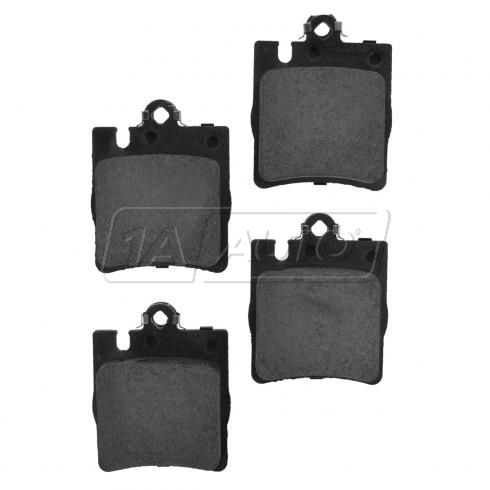 Rear Ceramic (1 Pin) Disc Brake Pads (CD873)