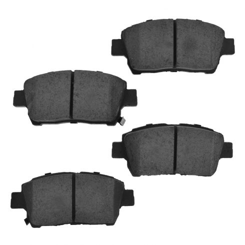 Front Ceramic Disc Brake Pads (CD822)