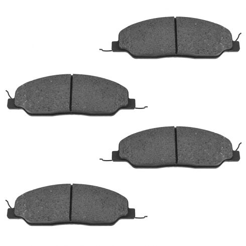 Front Ceramic Disc Brake Pads (CD1081)