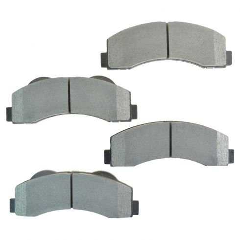 Front Posi Semi Metallic Disc Brake Pads (MD1414)