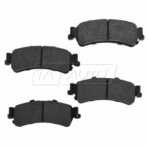 1999-03 Silverado Tahoe Escalade Rear Premium Posi Metallic Disc Brake Pads