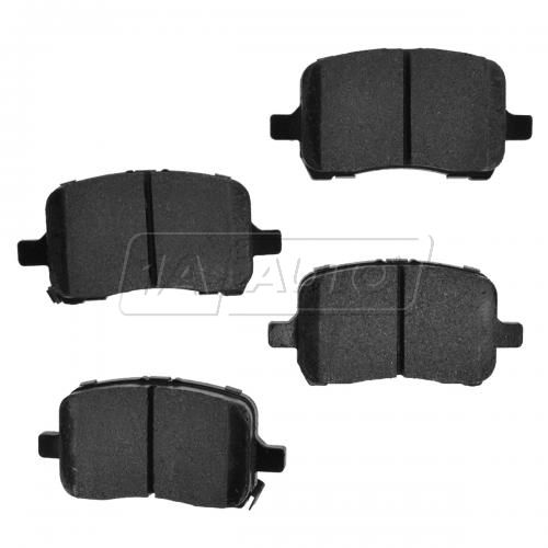 04-12 GM Fwd Front Premium Posi Metallic Disc Brake Pads