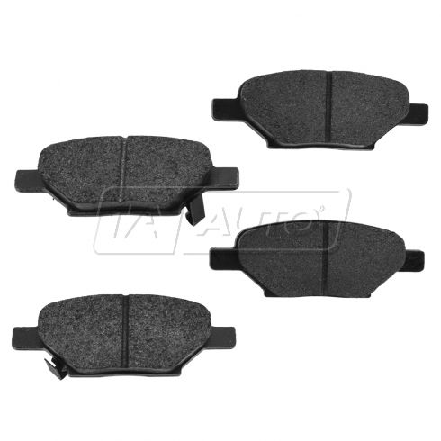 04-12 GM Fwd Rear Premium Posi Metallic Disc Brake Pads