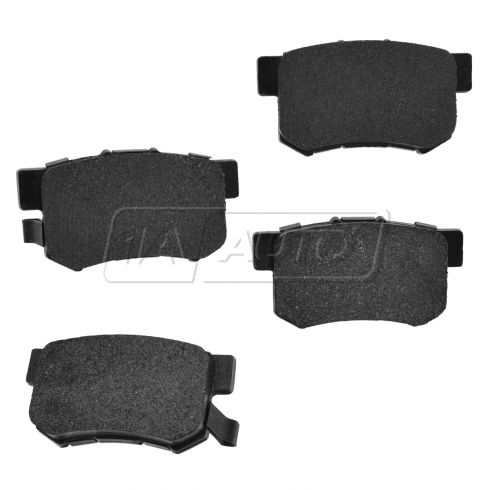 97-14 TL TSX 90-14 Accord Civic S2000 Rear Premium Posi Metallic Disc Brake Pads