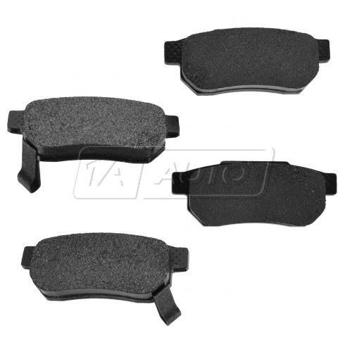 90-01 Integra 92-00 Civic CRX DelSol, Rear Premium Posi Metallic Disc Brake Pads