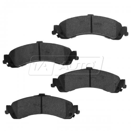 02-06 GM Full Size Truck 6 Stud Wheel Rear Premium Posi Metallic Disc Brake Pads