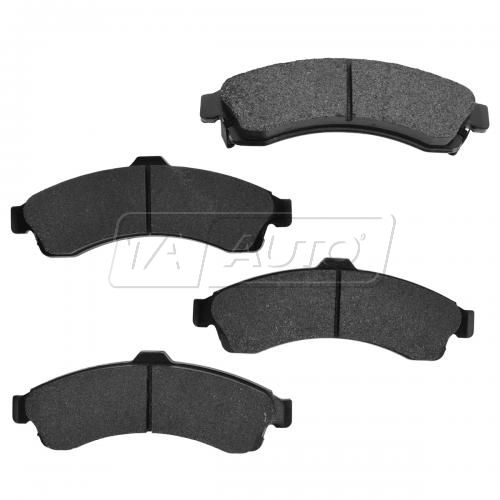 02-05 Buick Chevy GMC Mid Size SUV Front Premium Posi Metallic Disc Brake Pads