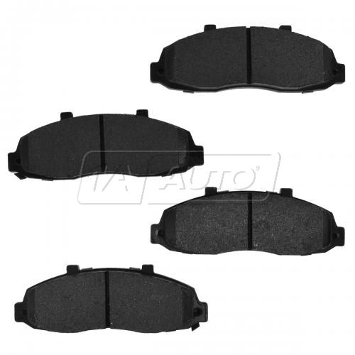 04-11 Ford F150 F250 4wd With 5 Lug Front Premium Posi Metallic Disc Brake Pads
