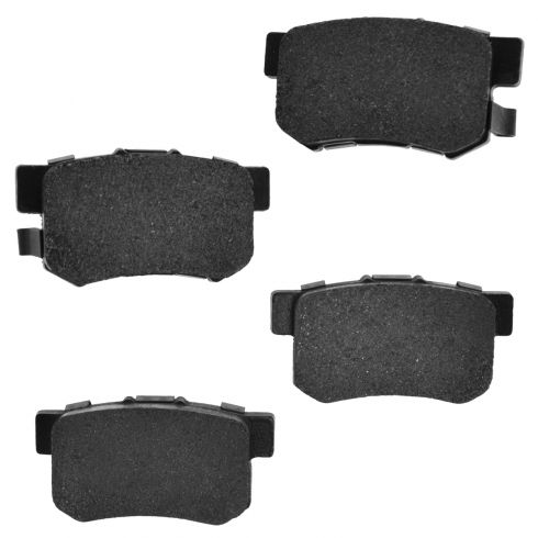 97-12 CL RL TL ;  02-11 CR-V Element Rear Premium Posi Metallic Disc Brake Pads