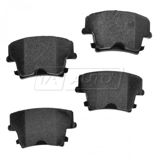 05-14 300; 09-14 Challenger, Charger Rear Premium Posi Metallic Disc Brake Pads