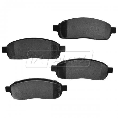 04-08 Ford F150 4WD 6 Lug Front Premium Posi Metallic Disc Brake Pads