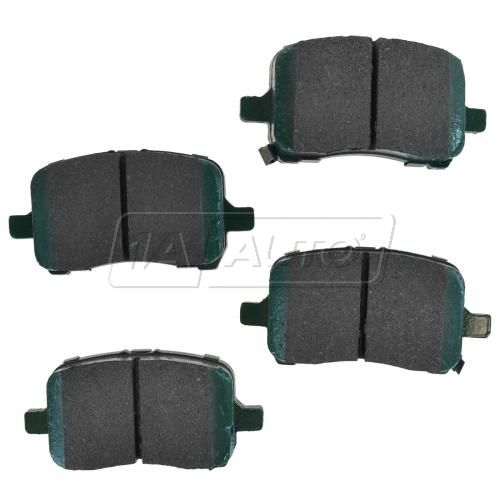 04-12 GM Fwd Front Premium Posi Ceramic Disc Brake Pads