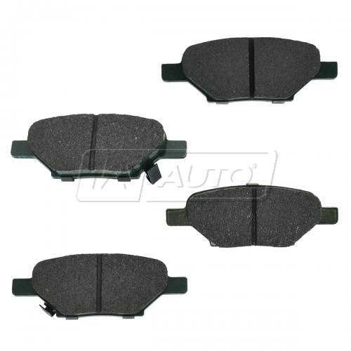 04-12 GM Fwd Rear Premium Posi Ceramic Disc Brake Pads