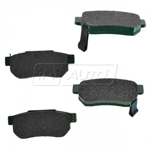 90-01 Integra; 92-00 Civic CRX DelSol, Rear Premium Posi Ceramic Disc Brake Pads