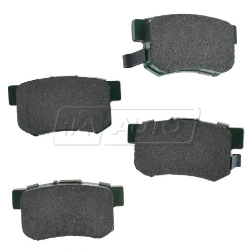 97-12 CL RL TL ;  02-11 CR-V Element Rear Premium Posi Ceramic Disc Brake Pads