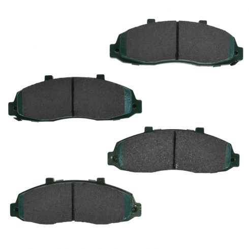 04-11 Ford F150 F250 4wd With 5 Lug Front Premium Posi Ceramic Disc Brake Pads