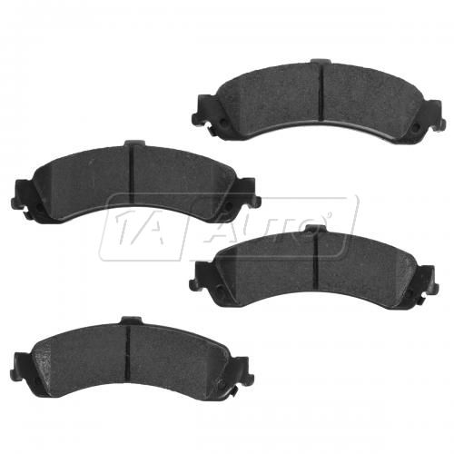 02-06 GM Full Size Truck 6 Stud Wheel Rear Premium Posi Ceramic Disc Brake Pads