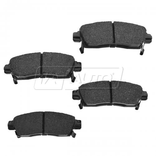 08-14 Enclave Trailblazer, Traverse Rear Premium Posi Ceramic Disc Brake Pads