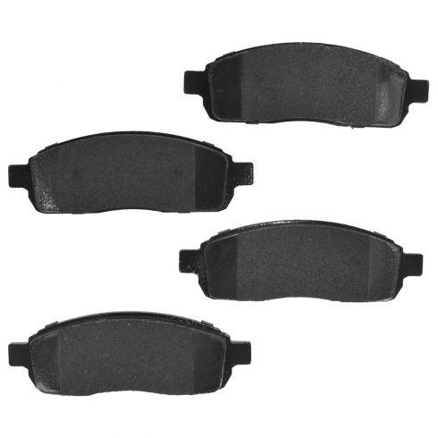 04-08 Ford F150 4WD 6 Lug Front Premium Posi Ceramic Disc Brake Pads