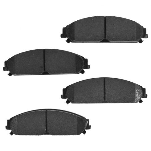 05-14 300; 09-14 Challenger, Charger Front Premium Posi Ceramic Disc Brake Pads