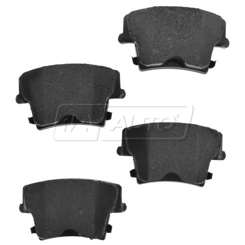05-14 300; 09-14 Challenger, Charger Rear Premium Posi Ceramic Disc Brake Pads