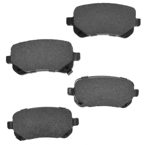 08-12 T&C; 08-13 Journey; 09-12 Routan Rear Premium Posi Ceramic Disc Brake Pads