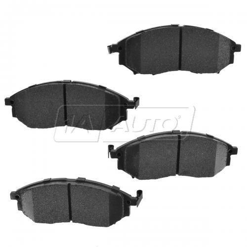 08-14 Infiniti; 06-14 Nissan Multifit Front Premium Posi Ceramic Disc Brake Pads