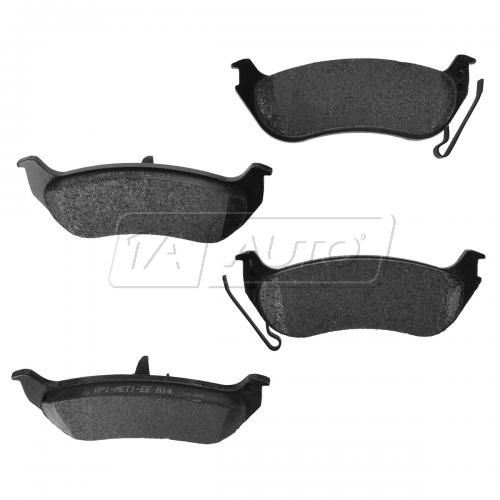 Ford Mercury Rear Posi Semi-Metallic Disc Brake Pads (981)
