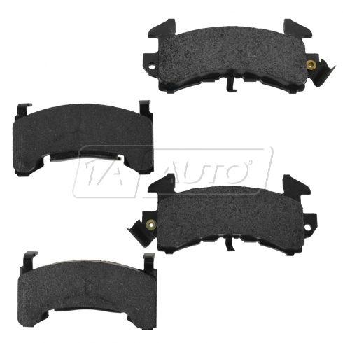 78-87 Regal Camaro Monte Cutlass G-Prix Front Posi Semi-Metallic Disc Brake Pads