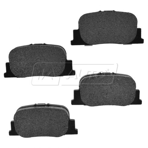 01-00 ES300; 05-10 tC; 00-01 Camry Rear Posi Semi-Metallic Disc Brake Pads