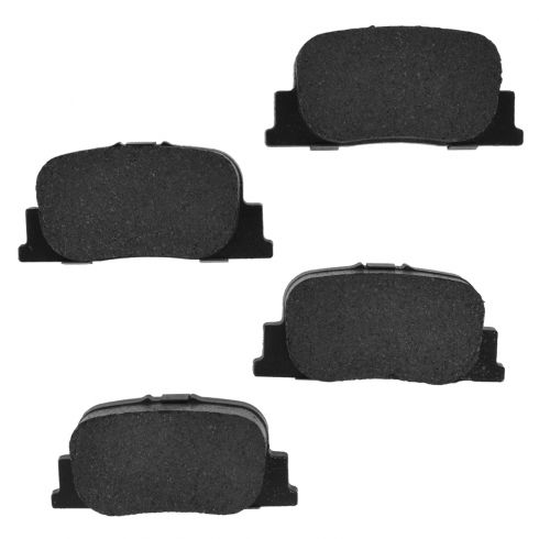 01-00 ES300; 05-10 tC; 00-01 Camry Rear Posi Ceramic Disc Brake Pads