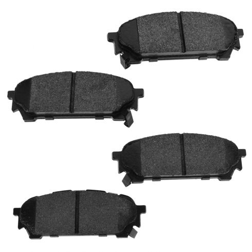 05-06 9-2X; 03-08 Forester, Impreza Rear Posi Semi-Metallic Disc Brake Pads