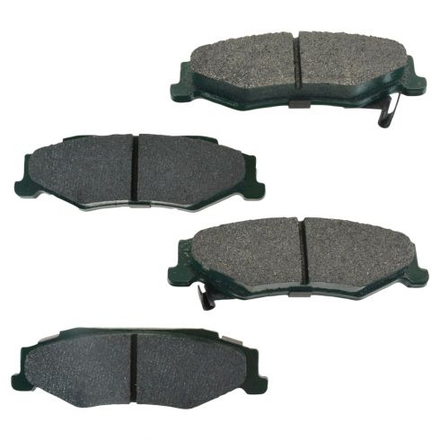 97-13 Corvette, GTO, XLR Rear Posi Ceramic Disc Brake Pads (CD732)