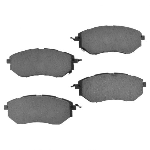 06-15 Tribeca, Legacy; 10-14 Outback; 14 Forester Front Ceramic Brake Pad Set