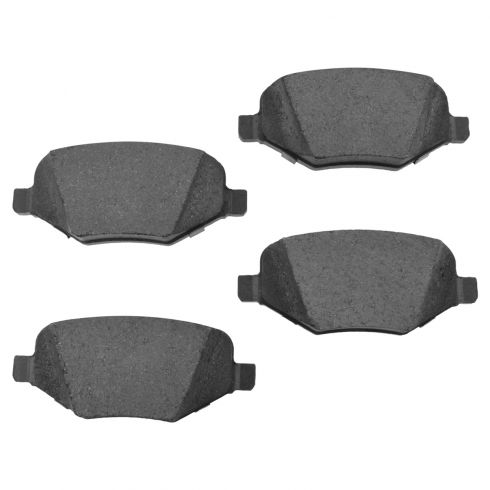 00-14 Edge, Explorer, MKX; 09-15 Flex, Taurus Rear Ceramic Brake Pad Set