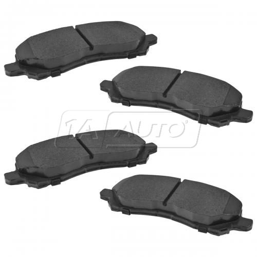01-15 Chrysler, Dodge, Jeep, Mitsubishi Front Ceramic Brake Pad Set