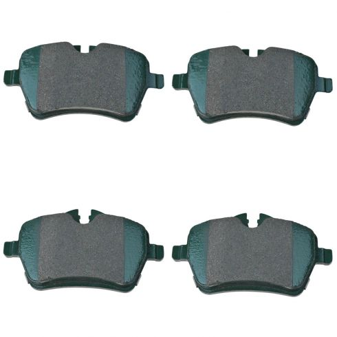 06-14 Mini Cooper Front Premium Posi Semi Metallic Disc Brake Pads