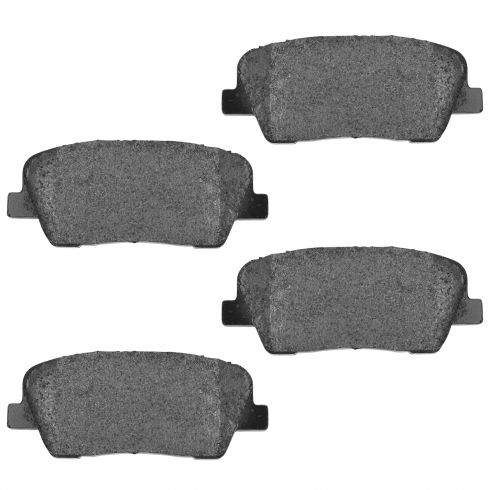 08-15 Hyundai Muliti Fit Rear Premium Posi Semi Metallic Disc Brake Pads
