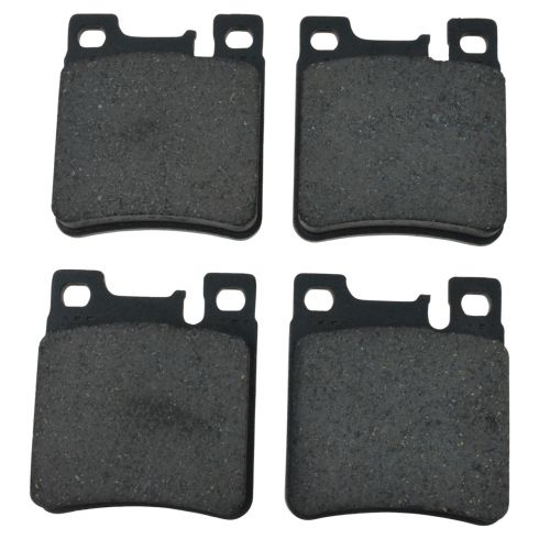 92-04 Mercedes Benz; 05-06 Crossfire Rear Ceramic Brake Pad Set