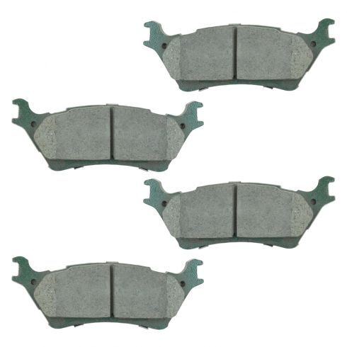 12-15 Ford F150 Rear Premium Posi Ceramic Disc Brake Pad