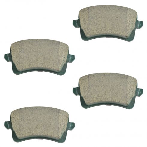 09-15 A4, S4; 08-15 A5, S5; 09-15 Q5 Rear Premium Posi Ceramic Disc Brake Pads