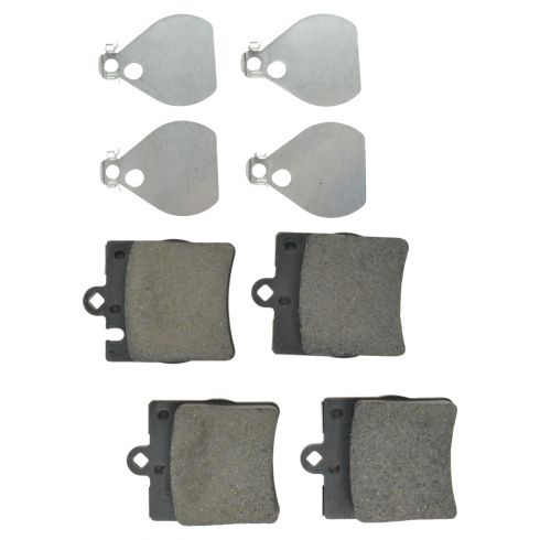 Rear Posi Ceramic (1 Pin) Disc Brake Pads 1 Pad w/Sensor Hole