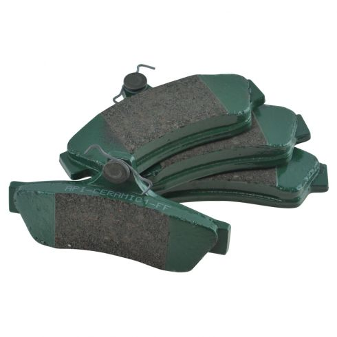 04-06 Pontiac GTO Rear Ceramic Brake Pad Set